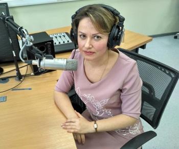 Екатерина Куликова в прямом эфире на «радио БОНЧ»